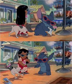 Rat Terrier in Lilo & Stitch! It's funny because I always say my puppy Chip looks like Stitch, with his big ears! :-)