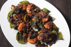 I wanted to show a good recipe of prawn roast for quite a long time.Finally here i am sharing you my version of keralan prawn roast, . Spicy Seafood Recipes, Prawn Recipes, Lobster Recipes, Roast Recipes, Veg Recipes, Snacks Recipes, Chicken Recipes, Prawns Roast, Kitchens