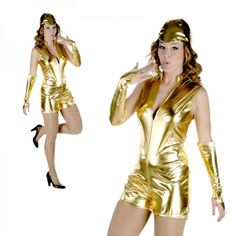 Disfraz de Burbuja de Cava Freixenet Wonder Woman, Superhero, Fictional Characters, Women, Carnival, Shopping, Masquerade Party Themes, Long Gloves, Grown Women