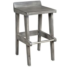 Ace Solid Mango Wood 26-inch Counter Stool
