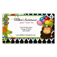 Sold this children #entertainment business card to VA. Thanks for you who purchased this.