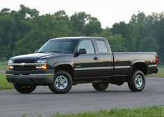 2004 Chevrolet Silverado one of First Chevy pickups  Mine was grey