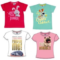 Girls Secret Life Of Pets T Shirt