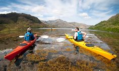 Join a guided sea kayaking holiday or beginners course in Scotland and learn to sea kayak on the spectacular coastlines of the Scottish Highlands & Islands. Kayak Camping, Canoe And Kayak, Kayak Fishing, Sea Kayak, Fishing Tips, Kayaks, Holiday Activities, Outdoor Activities, Adventure Travel Companies