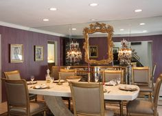 Dining Rooms by Natalie Weinstein Design Associates - Long Island Decorator - Natalie Weinstein Design Associates - Long Island Interior Design