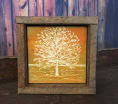 Rustic Fall Decor Engraved Wood Reclaimed by MichelleMarieTurner