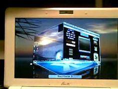 EeePc - Kubuntu 8.10 & Kde 4.2 - Mkhouse 2009 - YouTube