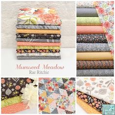 Rae Ritchie - Mumseed Meadow Fabric Collection