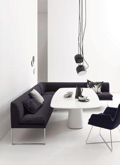 Für Gesellige Stunden Mell Polsterbank Hier Am Conic Esstisch #esstisch  #polsterbank #design #