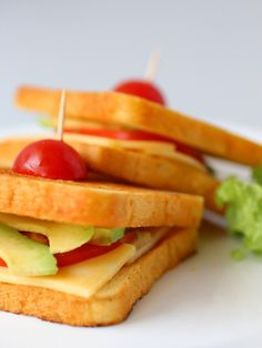 Grilled Cheese with Avocado and Heirloom Tomato