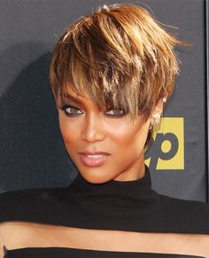 Pixies and Short Crops - Tyra Banks from InStyle.com
