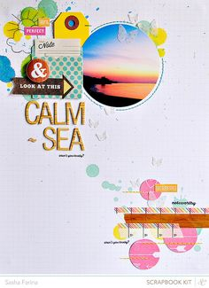 calm sea by ~Sasha, via Flickr