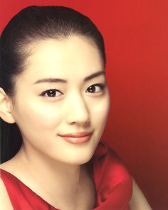 Haruka Ayase (Japanese actress). SK-2 by MAXFACTOR. natural make up. Japan cosmetic.