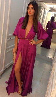 Vestido Magenta