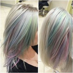 Hair Colour – My hair and beauty Pastel Hair, Purple Hair, Beleyage Hair, Peekaboo Hair, Opal Hair, Coloured Hair, Mermaid Hair, Cool Hair Color, Great Hair