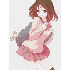 Lolitive ❤ liked on Polyvore featuring anime, anime girls, pictures, art and drawings