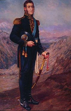 General San Martín, Rafael del Villar