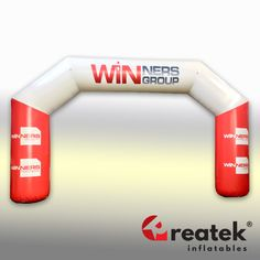 REATEK Europe's leading manufacturer of inflatable advertising. Logo Shapes, Bouncy Castle, Indoor Playground, Central Europe, Finish Line, Grand Opening, Playroom, Arch, Advertising