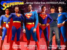 Superman fans we have the best in Superman movies from the 40's Superman serials starring Kirk Alyn, George Reeves as Superman of the 50's, the Christopher Reeve Superman of the 70's, the Dean Cain 90's TV Superman, Brandon Roth Return of Superman to the Henry Calvale Man of Steel. Plus many other Superman specials at our new DC Comics, Movie, TV and More page at http://tomatovisiontv.wix.com/tomatovision2#!dc-movies-tv/c1c70