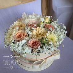 Funeral, Floral Wreath, Wreaths, Wedding, Box, Home Decor, Valentines Day Weddings, Snare Drum, Decoration Home