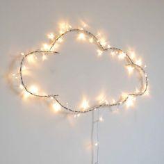 Illuminated cloud by Zoé Rumeau – diy kid room decor Kids Bedroom, Bedroom Decor, Cloud Lights, Ideias Diy, Kidsroom, Fairy Lights, Diy For Kids, Room Inspiration, Twinkle Lights