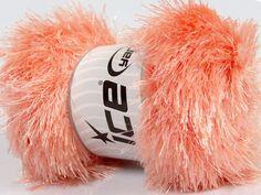 Fiber Content 80% Polyester 20% Lurex Light Salmon Brand Ice Yarns fnt2-46555