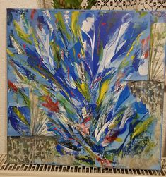 Albastru Painting, Art, Art Background, Painting Art, Kunst, Paintings, Performing Arts, Painted Canvas, Drawings