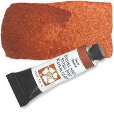 DANIEL SMITH Extra Fine Watercolor 15ml Tube - Burnt Sienna