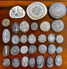 How To Make Beautiful Mandala Rocks