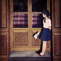 #art #clocktower #door #drawing #dariasong #embroidery #fabric #fineart #fiberart #fairytale #girl #waiting #lonely #handmade #illustration #quilt #sketch #textile #textileart #youngartist #작품 #문 #소녀 #기다림 #섬유예술 #자수 #일러스트 #퀼트