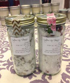 8 oz. Epsom Salt Bath Soak You Pick Scent by lightenupshoppe