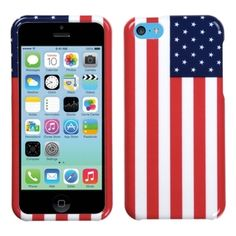 BasAcc United States National Flag Case for Apple iPhone 5C