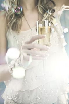 lets celebrate with champagne