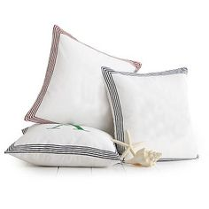 Beachport Striped Pillow