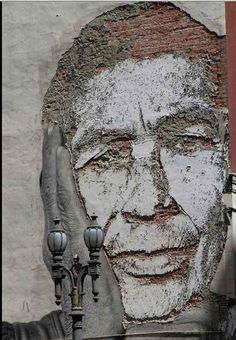 Scrathing the Surface, by Vhils   18 Photos Proving Berlin Has The World's Best Street Art