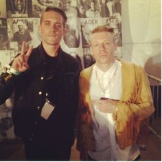 G Eazy and Macklemore. some of my faaaav rappers!