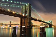 15 World's Most Impressive Bridges That Will Leave You Speechless.. 1. The Brooklyn Bridge @ New York. USA.