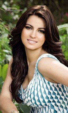 Maite Perroni...one of my actresses/ singers! She is amazing! I admire her simpleness and beauty