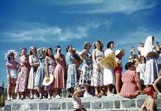 Australia summer dresses 1953