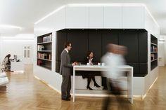 Law office BEIRA expansion, Vienna | Interior | Projects | BWM Architekten und Partner