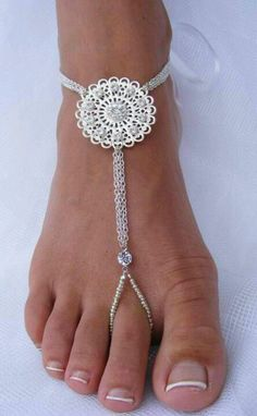 ♡ Barefoot sandals ♡