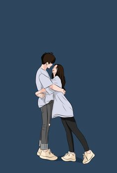 Cute Couple Drawings, Cute Couple Cartoon, Cute Couple Art, Cute Love Cartoons, Anime Couples Drawings, Cute Anime Couples, Anime Love Couple, Cute Drawings, Movie Couples