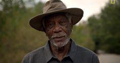 Morgan Freeman em National Geographic visita igreja pentecostal para testemunhar o 'Céu na Terra', falando em línguas