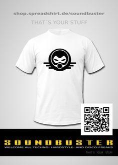 techno, hardcore, design, shirts, mode, style,