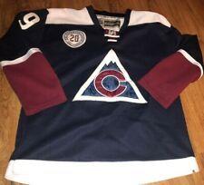 colorado avalanche 20th anniversary jersey