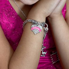 Show the world what a princess you are with this bracelet.  On sale now for only $10!