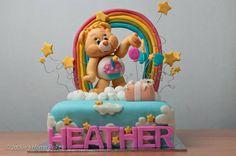 Birthday Bear Birthday Cake Cake by JackiesHomeBakes