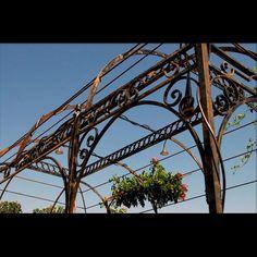 Directoire gazebo - French Ironwork - Provence - Traditional & Contemporary - Avignon - La Forge Pergola, Gazebo, La Forge, Porch Columns, Trellis, Metallica, Provence, Balcony, Terrace