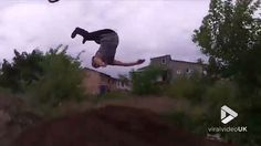 How not to take a bmx ramp