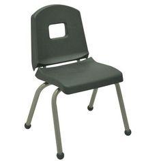Mahar Creative Colors 14'' Plastic Classroom Chair Glide Type: Ball